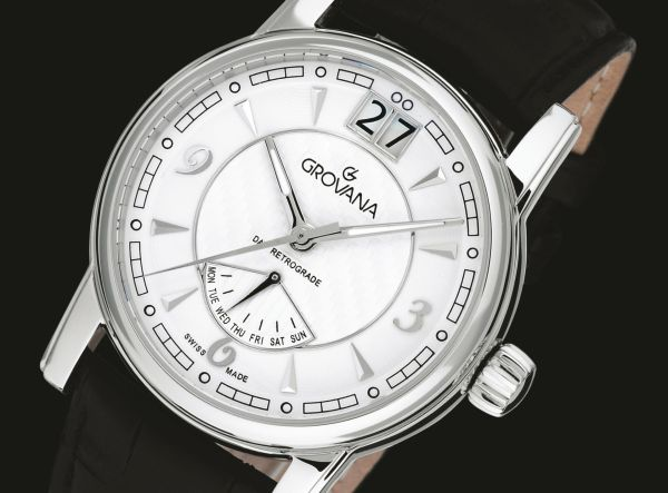 GROVANA Day Retrograde watch