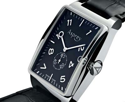 Asprey No. 8 Rectangular Automatic Watch