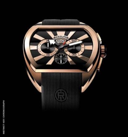 Rodolphe Instinct 4851 Chronograph 5N Gold