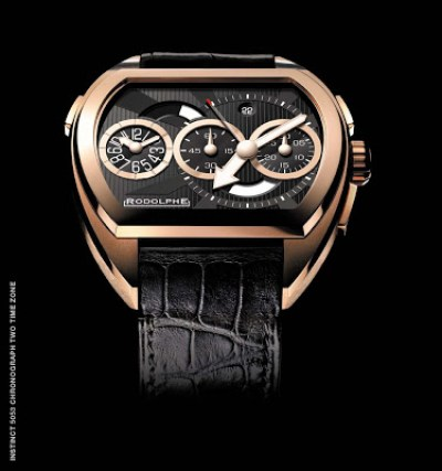 Rodolphe Instinct 5053 Chronograph Two Time Zone watch