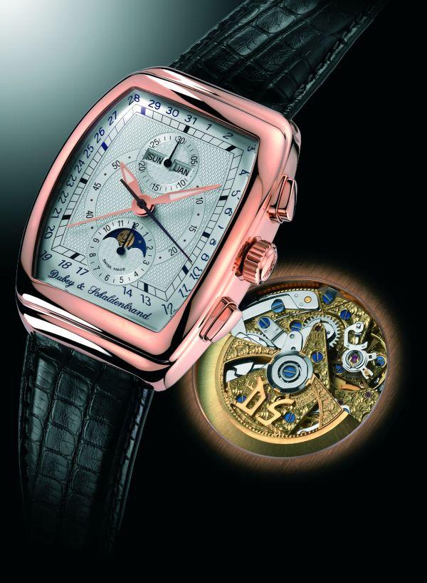Dubey & Schaldenbrand Gran' Chrono Astro, Pink Gold watch