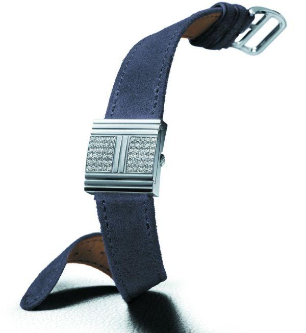 HERMES Glissade Diamants watch