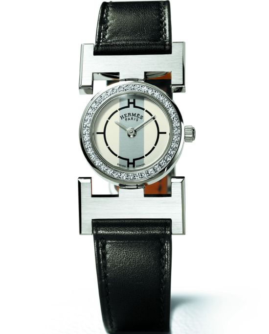 HERMES Paprika watch diamond set version 2003