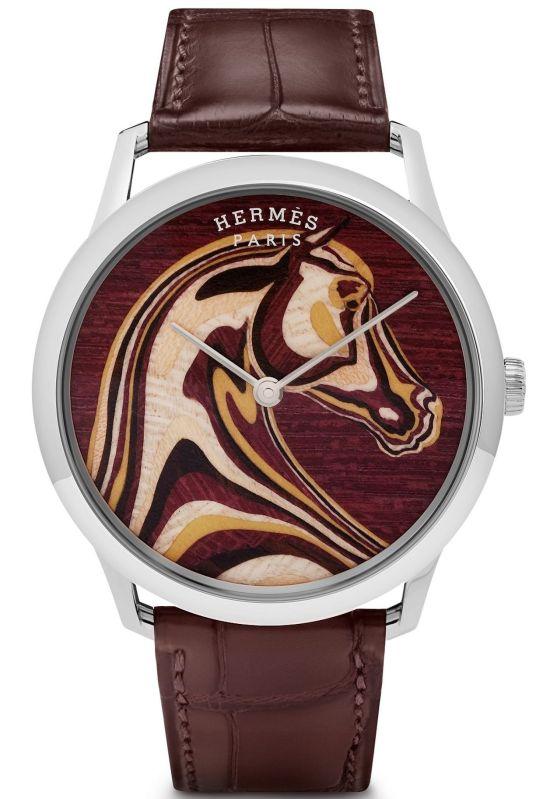 Hermès Slim D'Hermès Pégase Paysage Limited Edition watch
