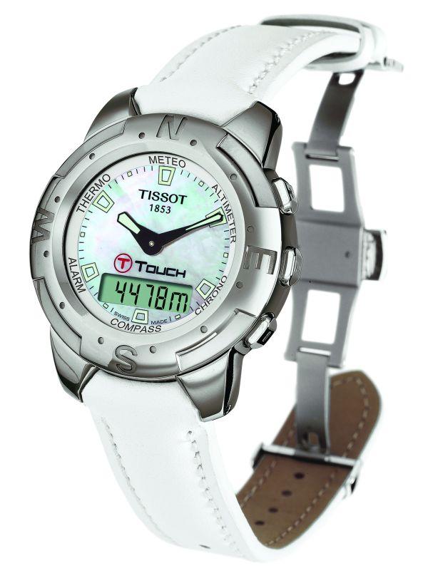 TISSOT T-Touch Polished Titanium watch