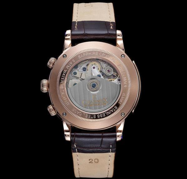 Charmex of Switzerland™ MURENBERG Yola Chronograph watch case back