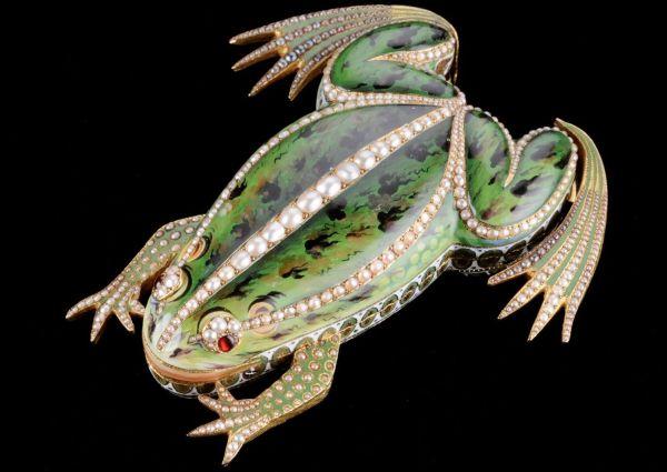 The frog automata -Maurice Sandoz collection