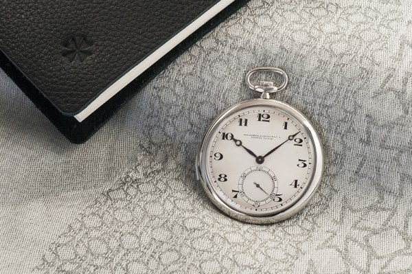 Vacheron Constantin Platinum open-face ultra-thin minute-repeater pocket watch, 1928
