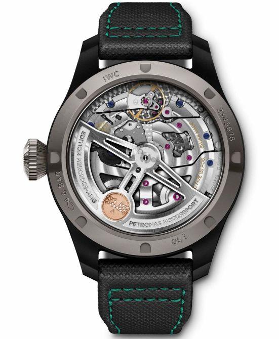 IWC Schaffhausen Big Pilot's Watch Perpetual Calendar Edition Mercedes-AMG Petronas Motorsport