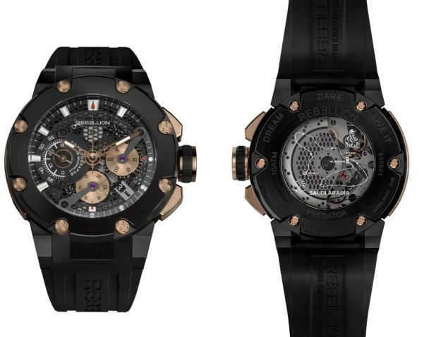 REBELLION Timepieces Predator Chronograph Dakar limited edition