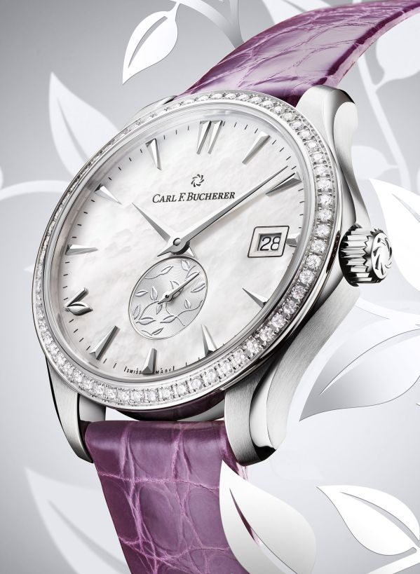 Carl F. Bucherer Manero Autodate Love (In Partnership with Brand Ambassador Li Bingbing)