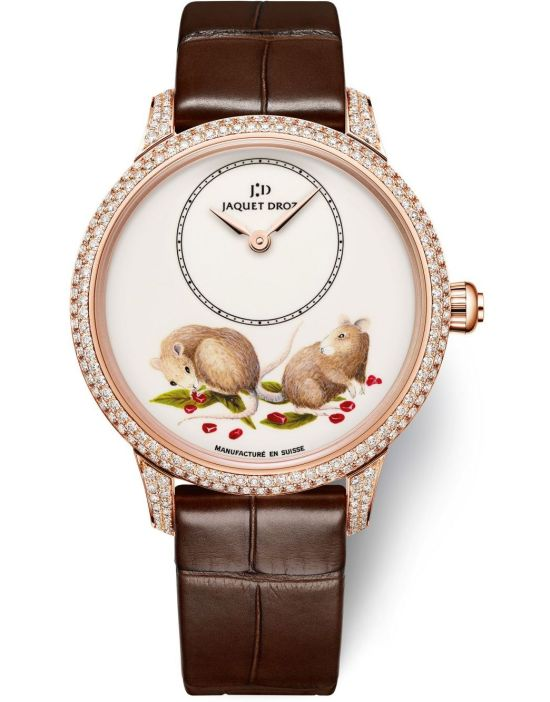 Jaquet Droz Chinese Zodiac Collection - Petite Heure Minute Rat and Petite Heure Minute Relief Rat