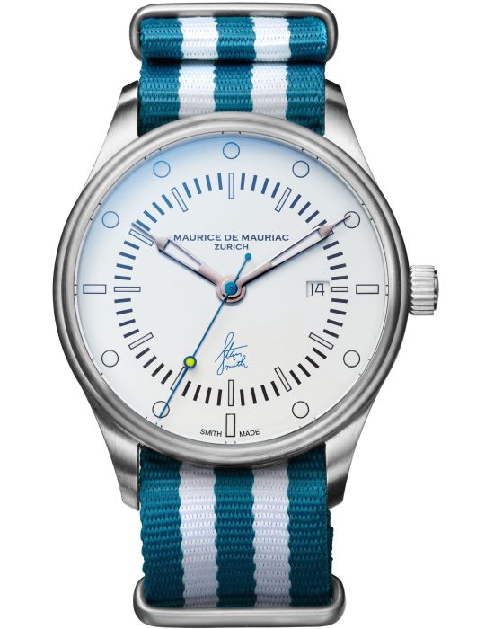 Maurice De Mauriac Stan Smith Signature Watch Limited Edition - Blue
