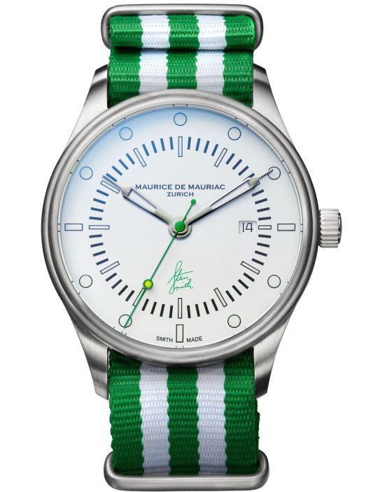 Maurice De Mauriac Stan Smith Signature Watch Limited Edition - Green