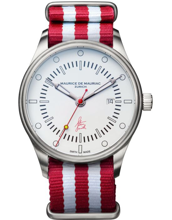 Maurice De Mauriac Stan Smith Signature Watch Limited Edition - Red