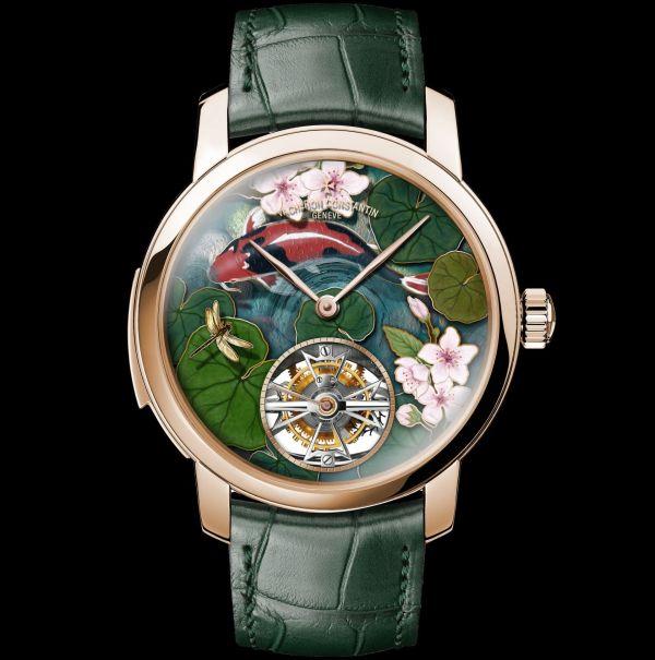 """La Musique du Temps®"" Les Cabinotiers Minute Repeater Tourbillon Four Seasons Spring, Pink Gold, Reference 6520C/000R-B604"