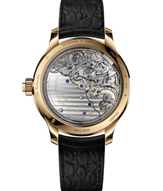 "Caseback view of Vacheron Constantin ""La Musique du Temps®"" Les Cabinotiers Symphonia Grande Sonnerie – The Sixth Symphony watch"