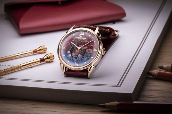 Vacheron Constantin Les Cabinotiers – La Caravelle 1950: Unique Timepiece Featuring a Cloisonné Enamel Dial Crafted by the Atelier Anita Porchet