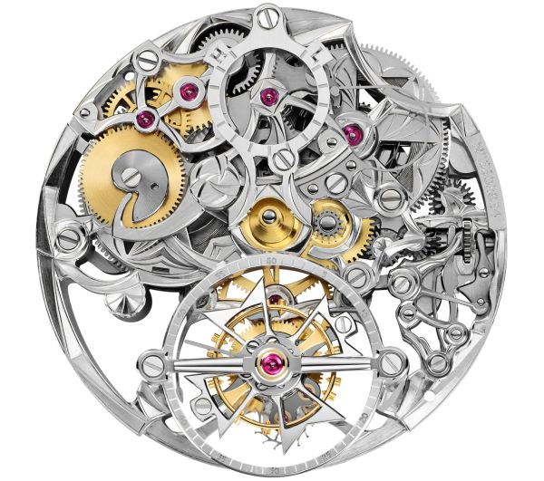Vacheron Constantin Les Cabinotiers Openworked Tourbillon High Jewellery movement