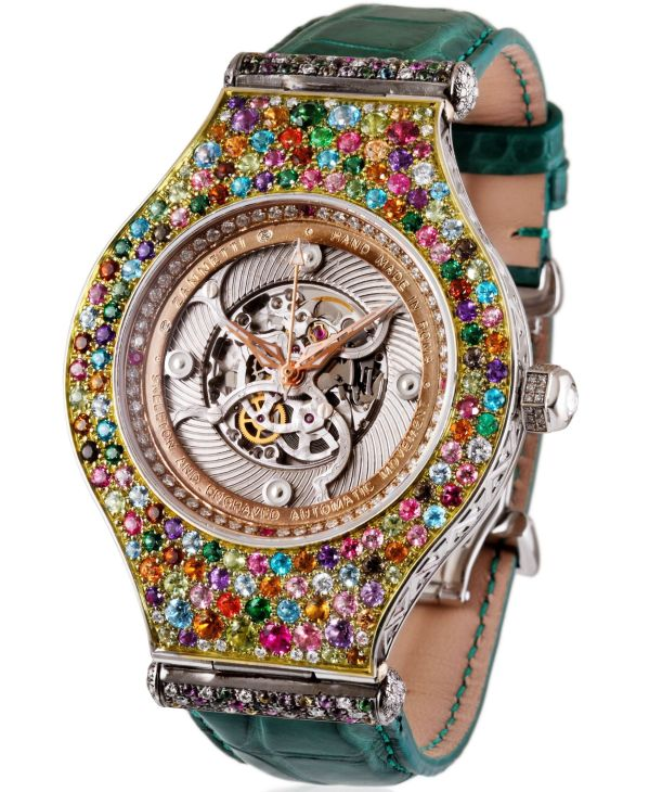 Zannetti High Jewelry Masterpiece Collection - Fantastic Jewelry watch