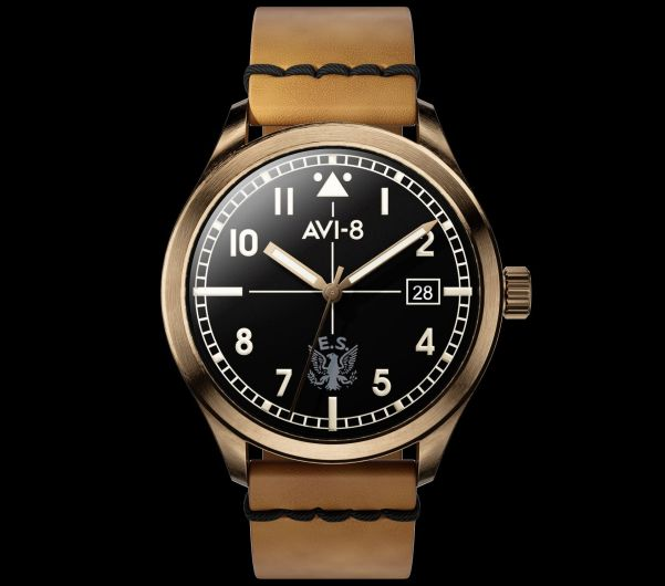 AVI-8 Flyboy Eagle Squadron Bronze Automatic Limited Edition