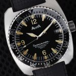 Alsta Nautoscaph Superautomatic 1970 Re-Edition diving watch