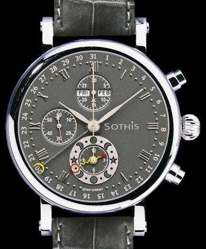 SOTHIS CHRONOGRAPH SPIRIT OF MOON PRESTIGE AUTOMATIC