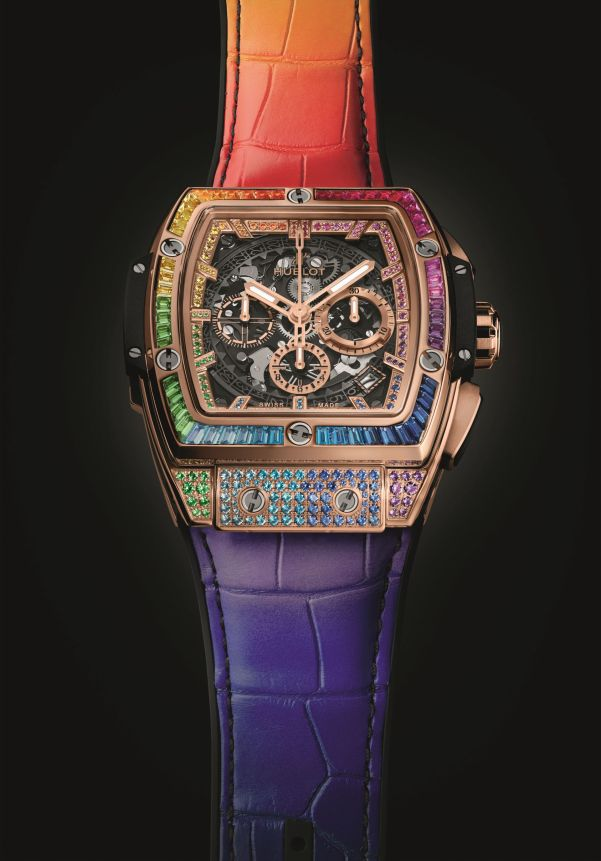 HUBLOT SPIRIT OF BIG BANG RAINBOW 42mm