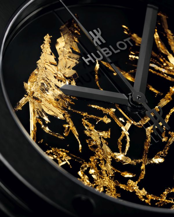 Hublot Classic Fusion Gold Crystal watch