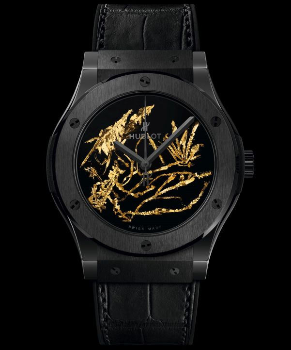 Hublot Classic Fusion Gold Crystal