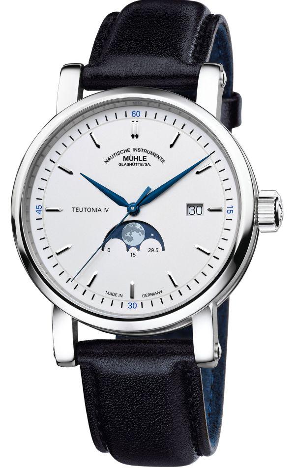 Mühle-Glashütte Teutonia IV Mondphase watch