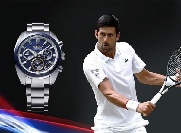 Seiko Astron GPS Solar Novak Djokovic 2020 Limited Edition watch