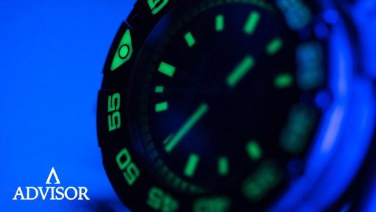 Advisor SUPA Diver Bronze Swiss Automatic Watch green c3 luminescence