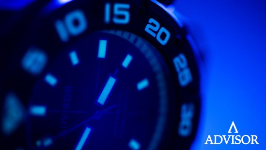 Advisor SUPA Diver Bronze Swiss Automatic Watch with Swiss Super-LumiNova in (blue) BGW9