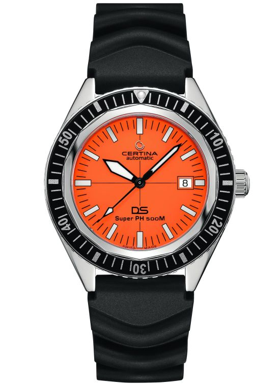 Certina DS Super PH500M Special Edition Diving Watch - In Cooperation with the Association of German Sport Divers (Verband Deutscher Sporttaucher, VDST)