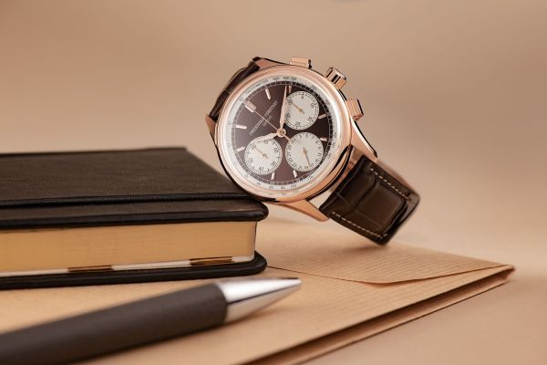 Frederique Constant Flyback Chronograph Manufacture rose gold plated model