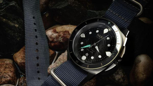 Nardi HMS-C20 - Automatic Diving Watch Made from HY-80 Steel Reclaimed from the Royal Navy Frigate HMS Cornwall