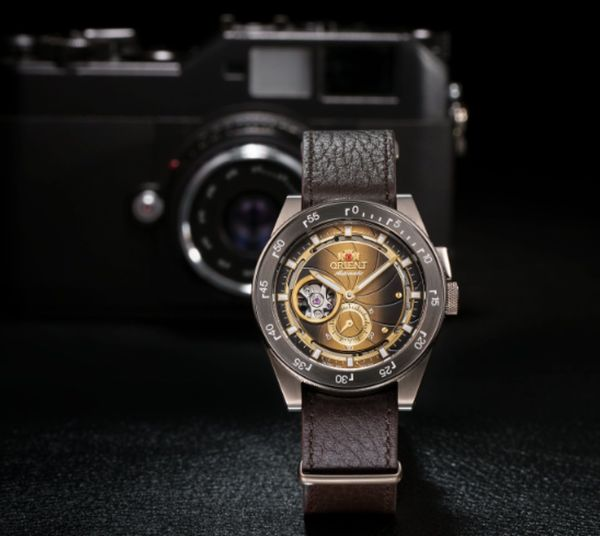 ORIENT Retro Future Camera Watch 70th Anniversary Limited Edition