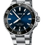 Oris Aquis New Version with 41.5mm Case and Sunray Blue Dial