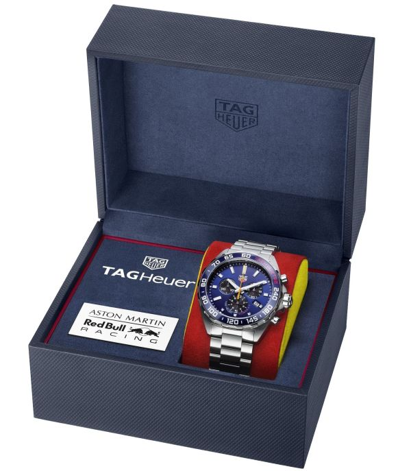 TAG Heuer Formula 1 Aston Martin Red Bull Racing Special Edition 2020 box