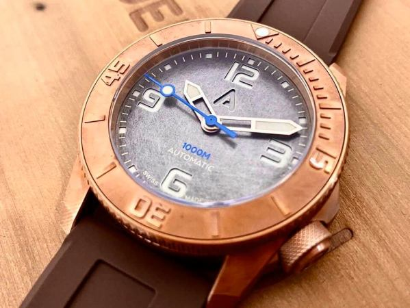 Andersmann Bronze Automatic Dive Watch Limited Edition 1000 Meters