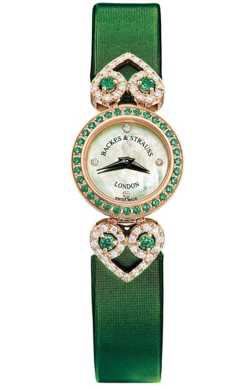 Backes & Strauss Miss Victoria 2020 Edition Miss Victoria Emerald Green