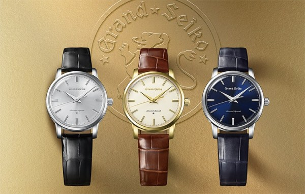Grand Seiko 60th Anniversary Edition - Re-Creations of the First Grand Seiko Watch from 1960