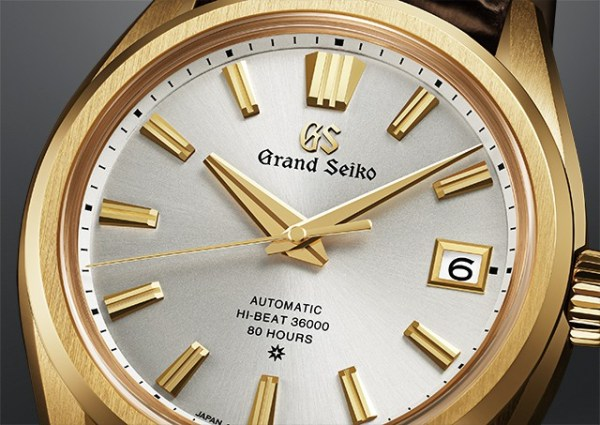 Grand Seiko 60th Anniversary Limited Edition Watch, Reference SLGH002: 18k Yellow Gold case and New Hi-Beat Caliber 9SA5