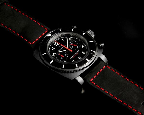 Tempore Lux Vintage One Chronograph black pvd version