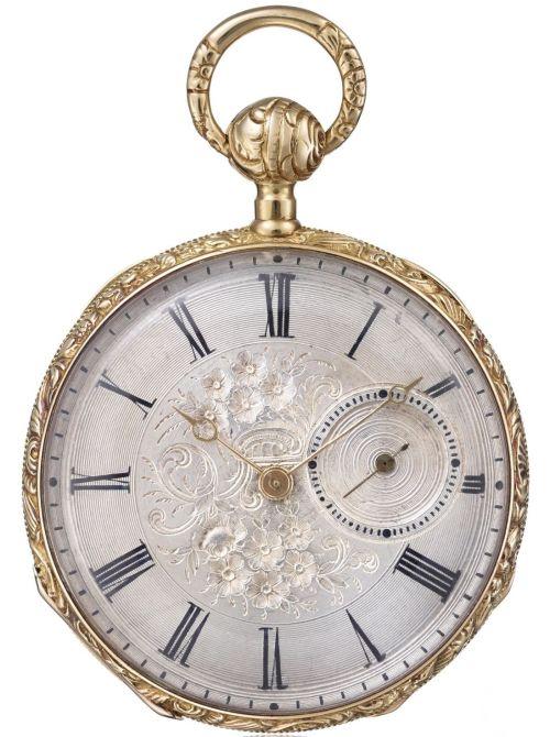 Vacheron Constantin Yellow gold pocket watch, circa 1815