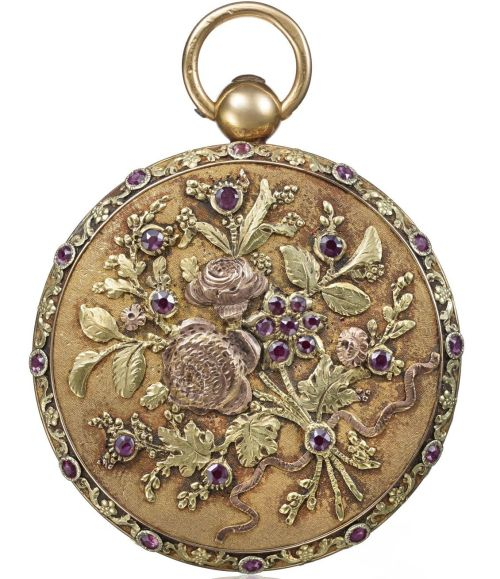 Vacheron Constantin Yellow gold pocket watch, circa 1838