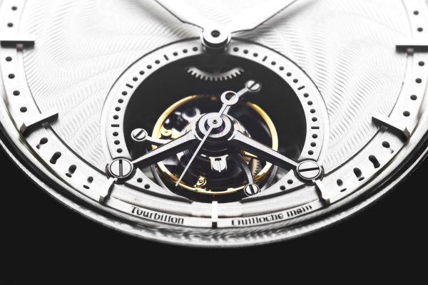 Van Bricht Old Mind Limited Edition manual wound tourbillon watch made in Belgium