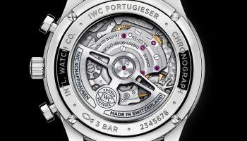 IWC Schaffhausen Portugieser Chronograph, Ref. IW371615 caseback