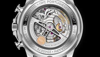 IWC Schaffhausen Portugieser Yacht Club Chronograph, Ref. IW390701 caseback